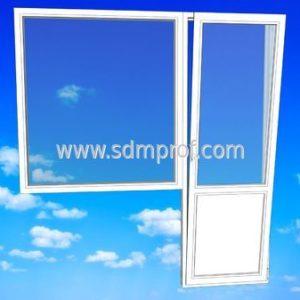 Балконный блок Montblanc окном