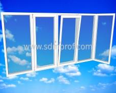 Балкон Г- образный Wintech Isotech 530 размер 1400х3000х800 мм